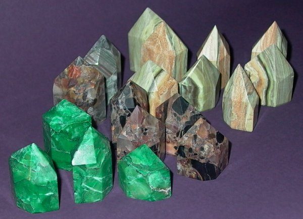 Healing Crystals (Budd Stone, Pudding Stone and Serpentine)