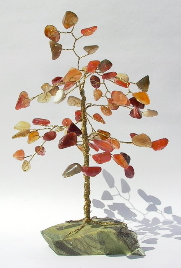 Mixed colours Carnelian Gemtree