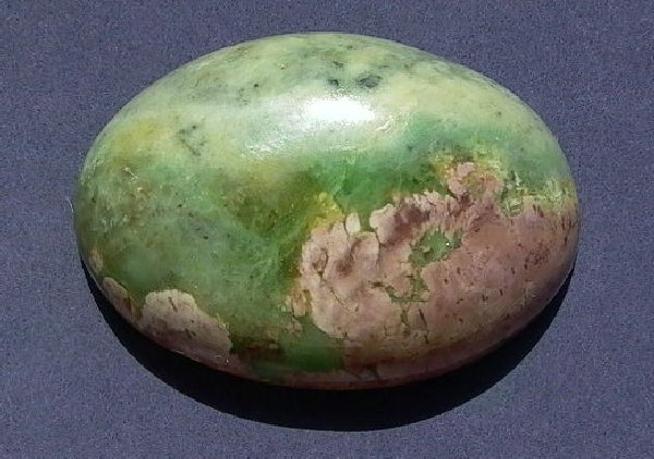 Green and Pink Hydrogrossular